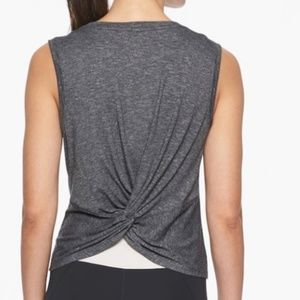 Athleta Twist Back Muscle Tank Top, XS